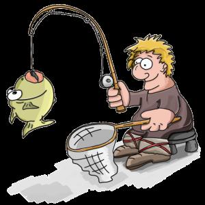 Blahopřání ke složení rybářských zkoušek